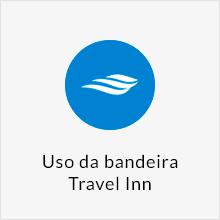 Uso da bandeira Travel Inn